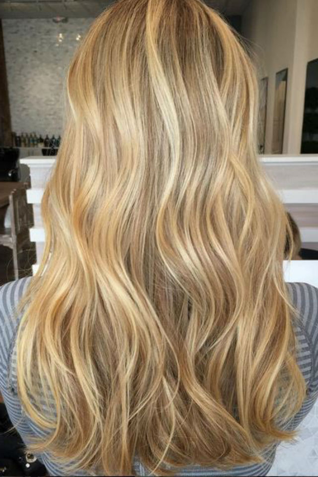 36 Blonde Balayage Hair Color Ideas With Caramel, Honey Intended For Natural Looking Dark Blonde Balayage Hairstyles (View 13 of 20)