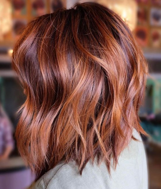 40 Awesome Balayage Red Hair Ideas Intended For Pixie Hairstyles With Red And Blonde Balayage (View 3 of 20)