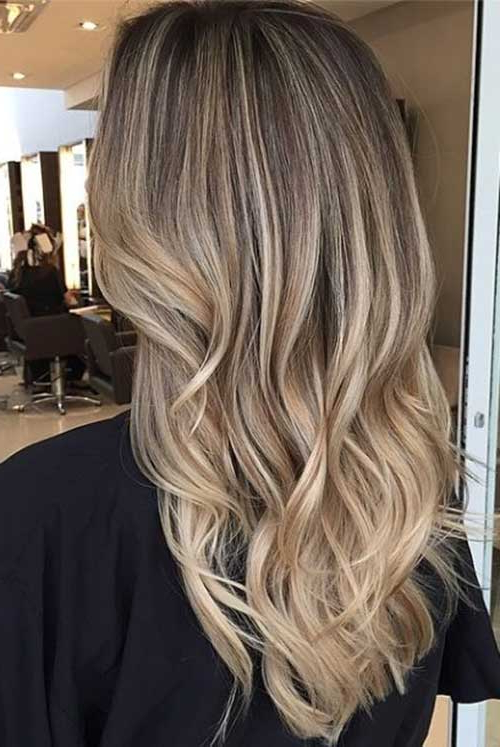 40 Blonde And Dark Brown Hair Color Ideas | Hairstyles And Inside Brown Blonde Sweeps Of Color Hairstyles (View 10 of 20)