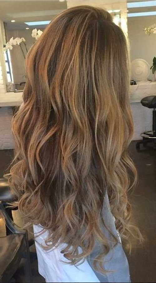 40 Blonde And Dark Brown Hair Color Ideas | Hairstyles And Intended For Brown Blonde Sweeps Of Color Hairstyles (View 14 of 20)