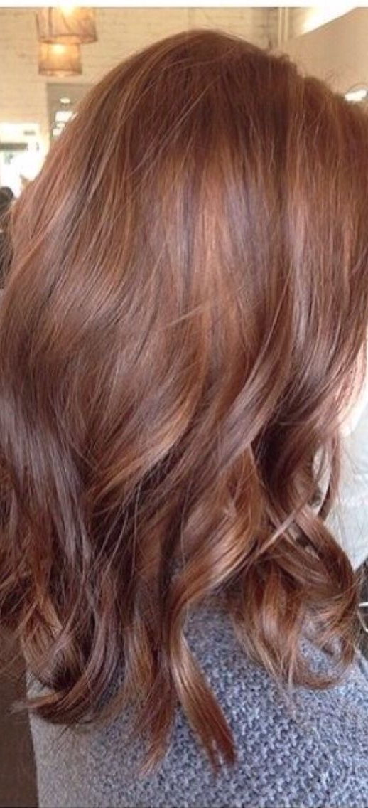 40 Brilliant Chestnut Hair Color Ideas And Looks Regarding Chestnut Short Hairstyles With Subtle Highlights (View 6 of 20)