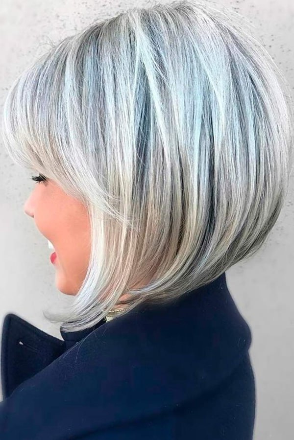 40 Hottest Bob Hairstyles & Haircuts 2019 – Inverted, Mob Inside Cool Toned Angled Bob Hairstyles (View 13 of 20)