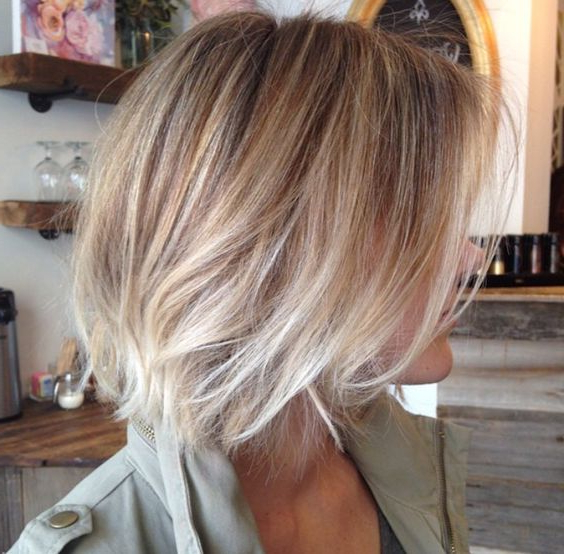 40 Hottest Bob Hairstyles & Haircuts 2019 – Inverted, Mob Intended For Balayage For Short Stacked Bob Hairstyles (View 6 of 20)