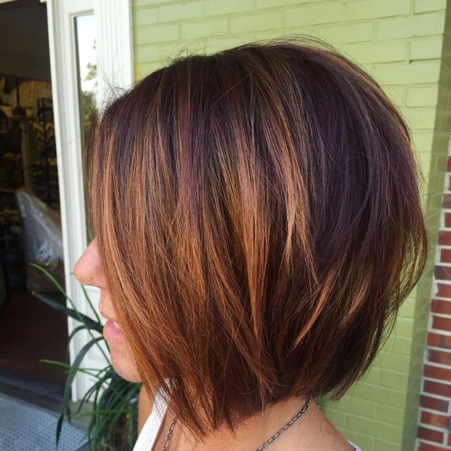 40 Hottest Bob Hairstyles & Haircuts 2021 – Inverted, Lob Within Short Bob Hairstyles With Balayage Ombre (View 3 of 20)