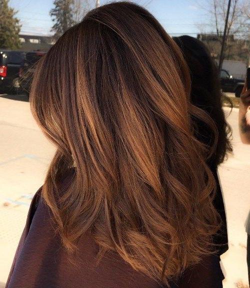 40 Jedinstvenih Načina Kako Bi Vaš Kesten Brown Hair Pop Intended For Chestnut Short Hairstyles With Subtle Highlights (View 10 of 20)