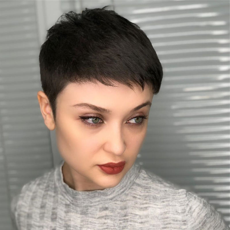 40+ Modern Short Pixie Haircuts That Are Just Brilliant Within Well Known Undercut Pixie Hairstyles With Hair Tattoo (View 16 of 20)