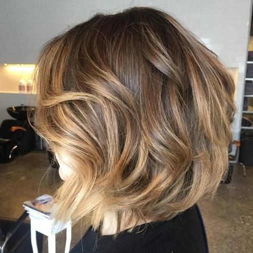 40 Of The Best Bronde Hair Options   Short Hair Balayage Regarding Bronde Balayage For Short Layered Haircuts (View 9 of 20)