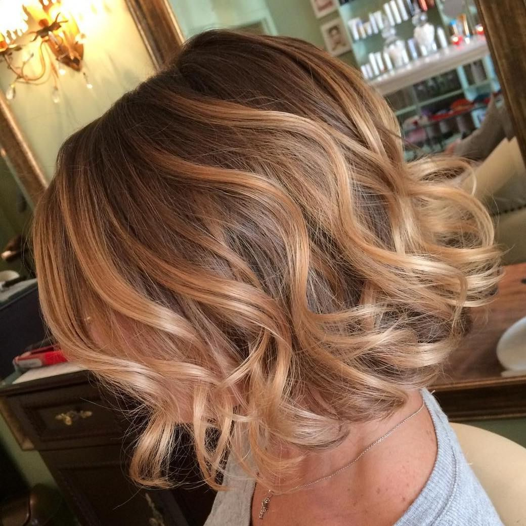 40 On Trend Balayage Short Hair Looks   Short Hair With Shaggy Bob Hairstyles With Blonde Balayage (View 8 of 20)