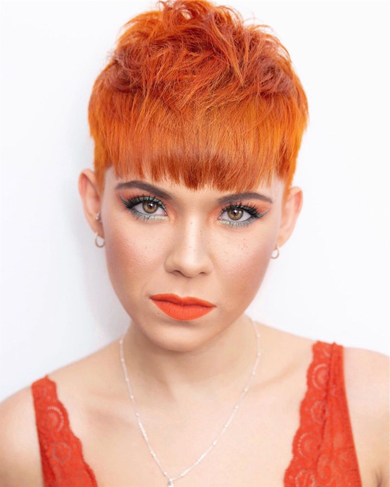 44 Cool Pixie Haircuts To Light You Up In 2020 – Page 17 With Regard To Most Current Undercut Pixie Hairstyles With Hair Tattoo (View 10 of 20)