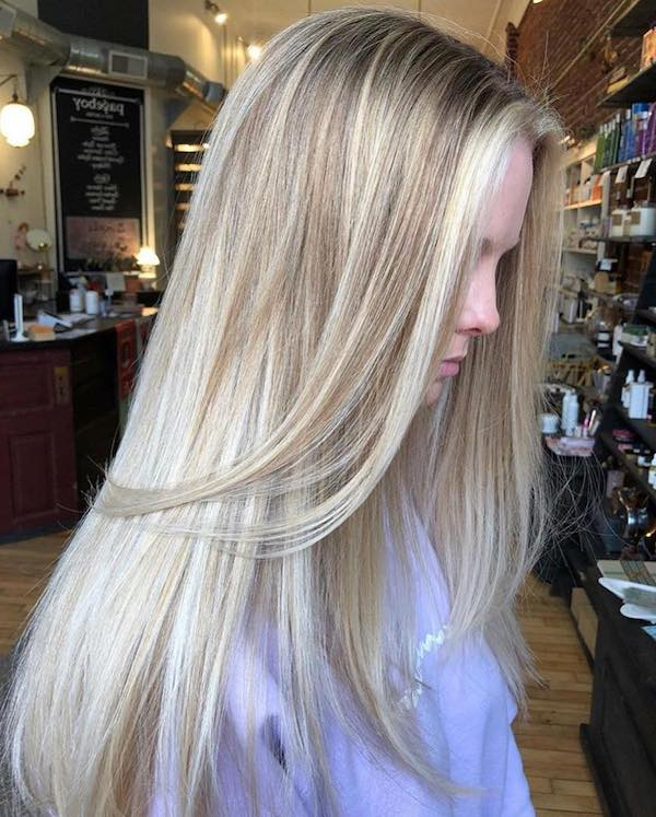 45 Best Balayage Hairstyles For Straight Hair For Shaggy Bob Hairstyles With Blonde Balayage (View 14 of 20)