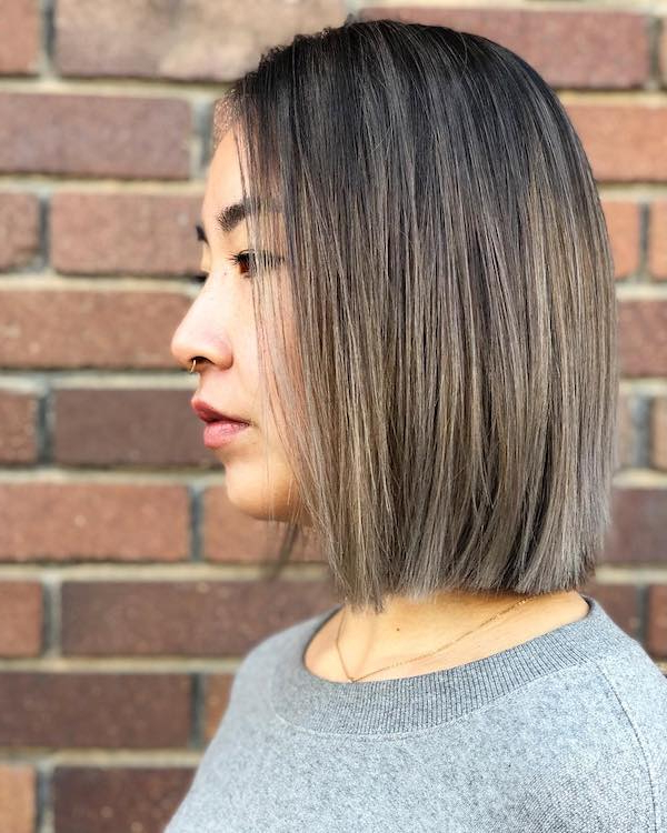 45 Best Balayage Hairstyles For Straight Hair Throughout Subtle Balayage Highlights For Short Hairstyles (View 17 of 20)