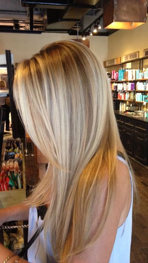 45 Best Balayage Hairstyles For Straight Hair With Long Pixie Hairstyles With Dramatic Blonde Balayage (View 17 of 20)