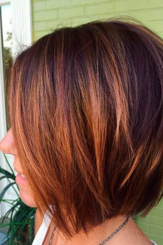 45 Fantastic Stacked Bob Haircut Ideas   Lovehairstyles With Regard To Balayage For Short Stacked Bob Hairstyles (View 12 of 20)
