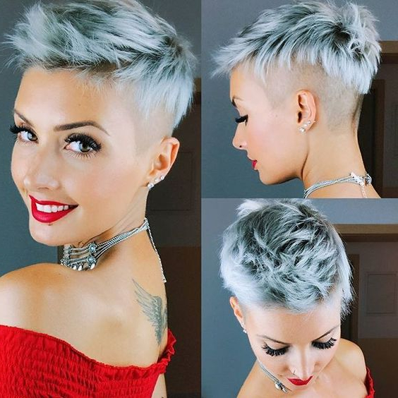 45 Perfect Spiky Hairstyles For Older Women (updated 2021 For Newest Spiky Short Hairstyles With Undercut (View 7 of 20)