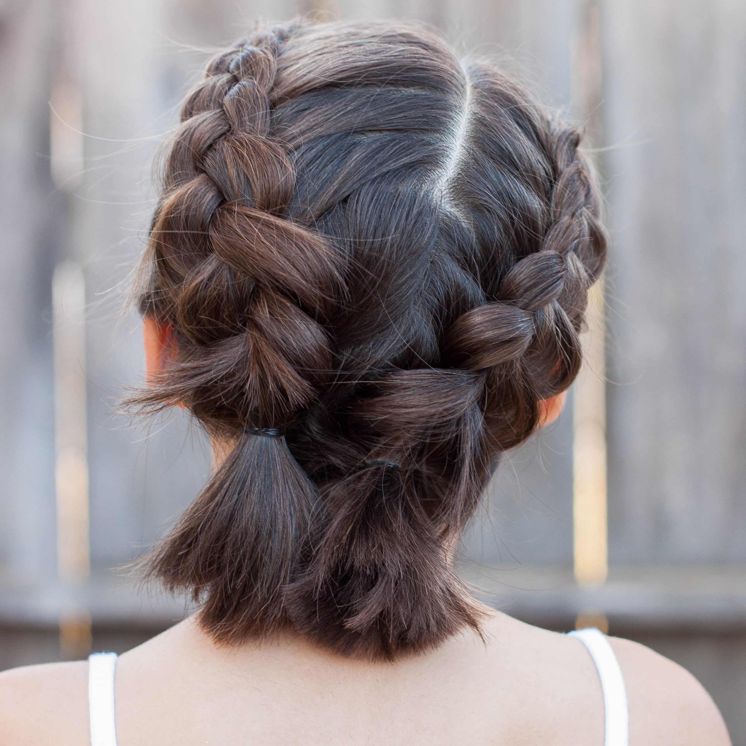 5 Braids For Short Hair – Cute Girls Hairstyles Throughout Popular Pigtails Hairstyles (View 15 of 20)
