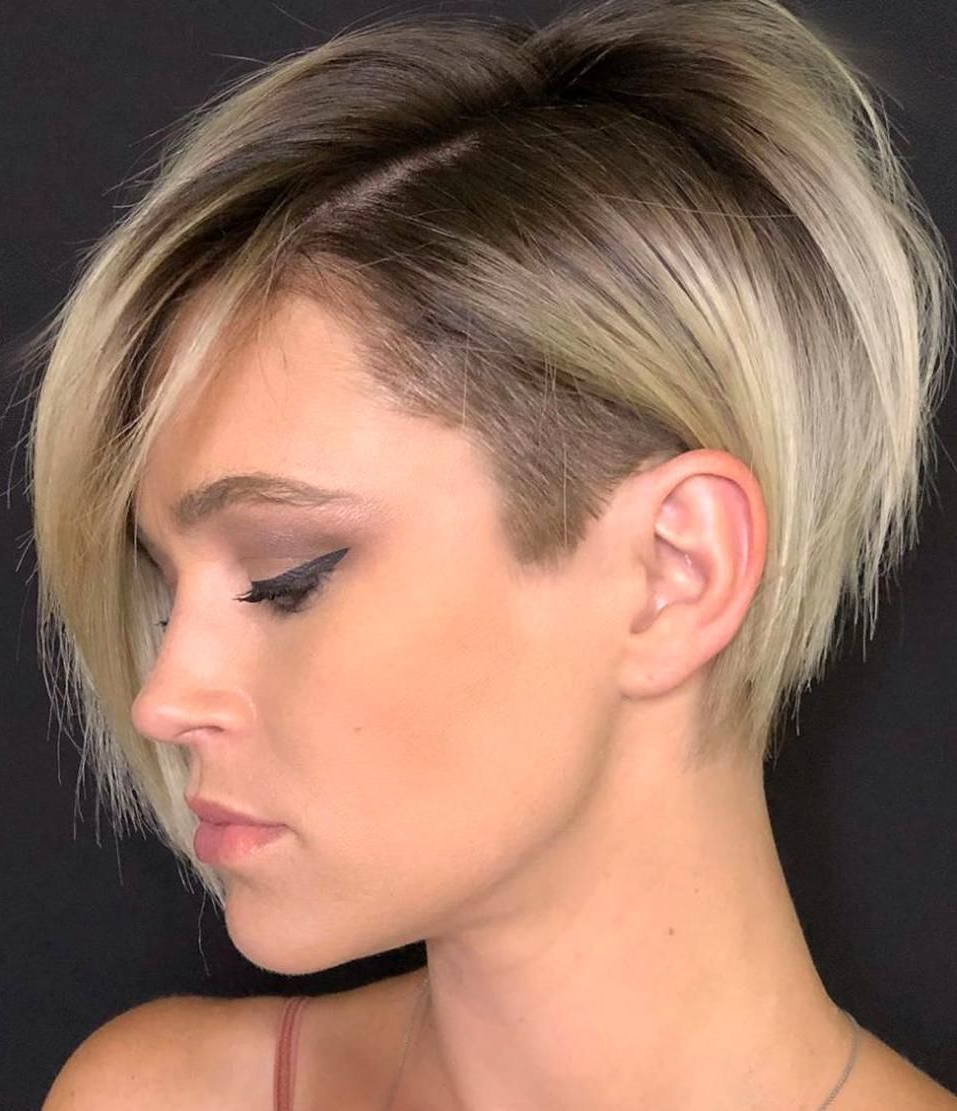 50 Badass Undercut Bob Ideas You Cant Say No To – Hair Throughout Most Popular Pixie Undercuts For Curly Hair (View 11 of 20)