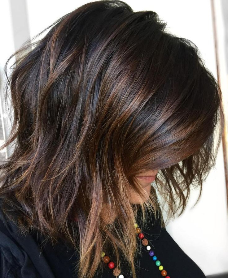 50 Best Medium Length Layered Haircuts In 2021 – Hair Regarding Short Brown Hairstyles With Subtle Highlights (View 5 of 20)