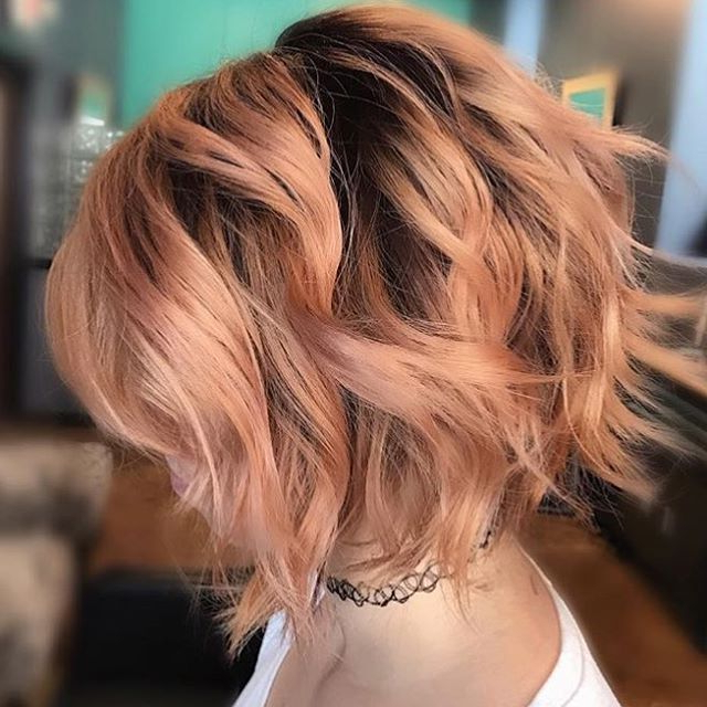 50 Hottest Balayage Hairstyles For Short Hair – Balayage For Short Bob Hairstyles With Balayage Ombre (View 10 of 20)
