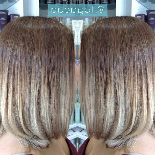 50 Hottest Balayage Hairstyles For Short Hair – Balayage In Blonde Balayage Hairstyles On Short Hair (View 15 of 20)