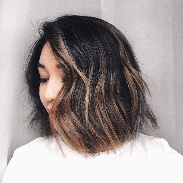 50 Hottest Balayage Hairstyles For Short Hair – Balayage Regarding Short Brown Balayage Hairstyles (View 16 of 20)
