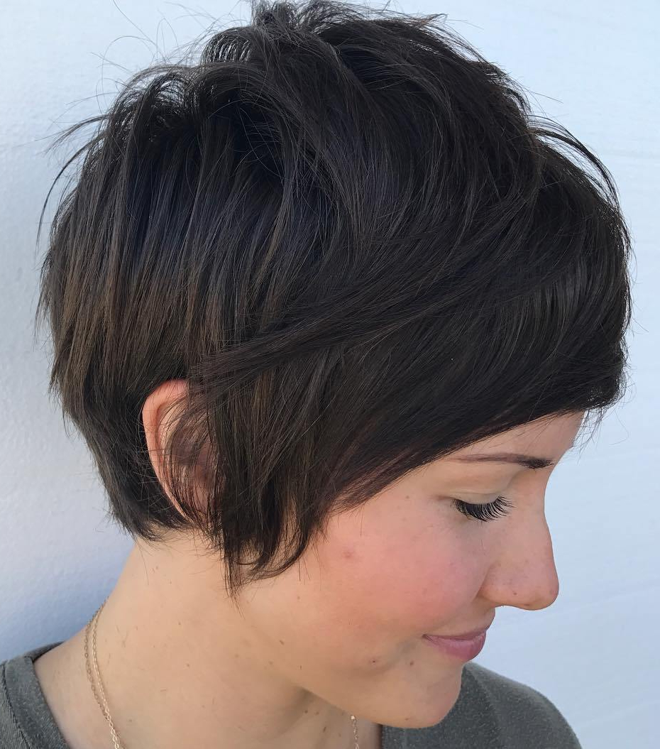 50 Images To Choose A Cool Choppy Pixie Haircut – Checopie Throughout Most Recently Released Short And Choppy Graduated Pixie Haircuts (View 2 of 20)