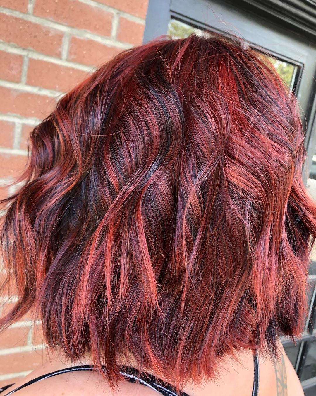 50+ Red Hair Color Ideas And Trends: Highlights, Styles Pertaining To Natural Brown Hairstyles With Barely There Red Highlights (View 11 of 20)