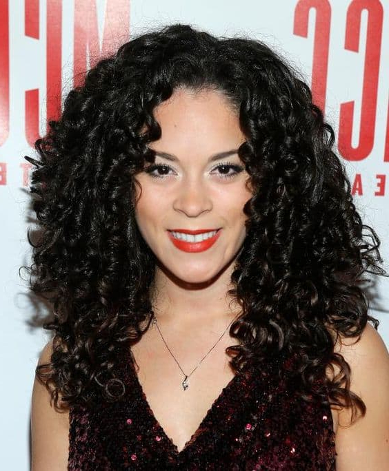 50 Ringlet Curls To Make You Look Amazing In 2021 For Latest Layered Ringlets Hairstyles (View 3 of 20)