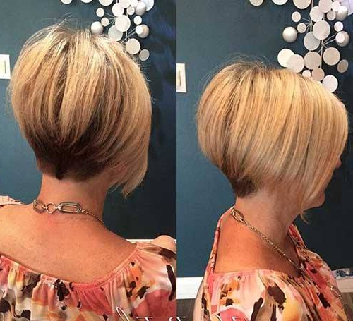 50+ Stylish Short Hairstyles For Women – Nicestyles Regarding Famous Sleek Coif Hairstyles With Double Sided Undercut (View 15 of 20)