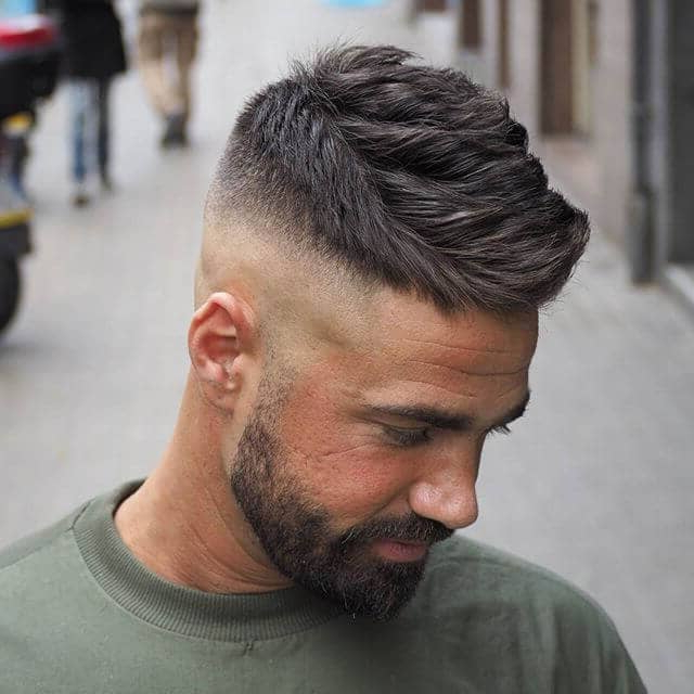 50 Trendy Undercut Hair Ideas For Men To Try Out In Favorite Contrasting Undercuts With Textured Coif (View 6 of 20)