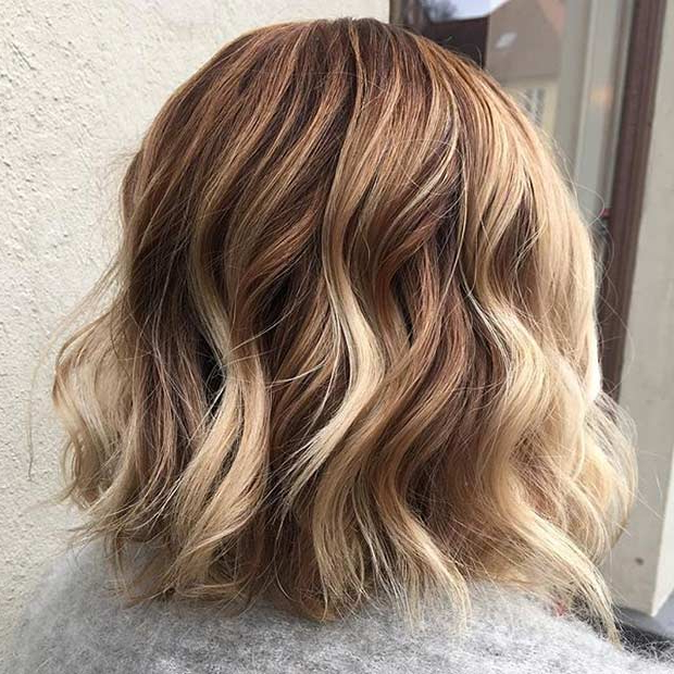 51 Gorgeous Long Bob Hairstyles | Page 3 Of 5 | Stayglam Regarding Balayage Highlights For Long Bob Hairstyles (View 15 of 20)