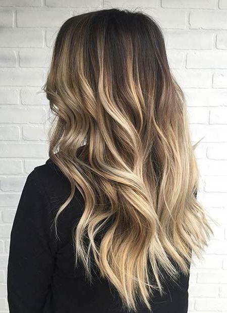 51 Stunning Blonde Balayage Looks | Stayglam | Blonde With Regard To Blonde Balayage On Short Dark Hairstyles (View 6 of 20)
