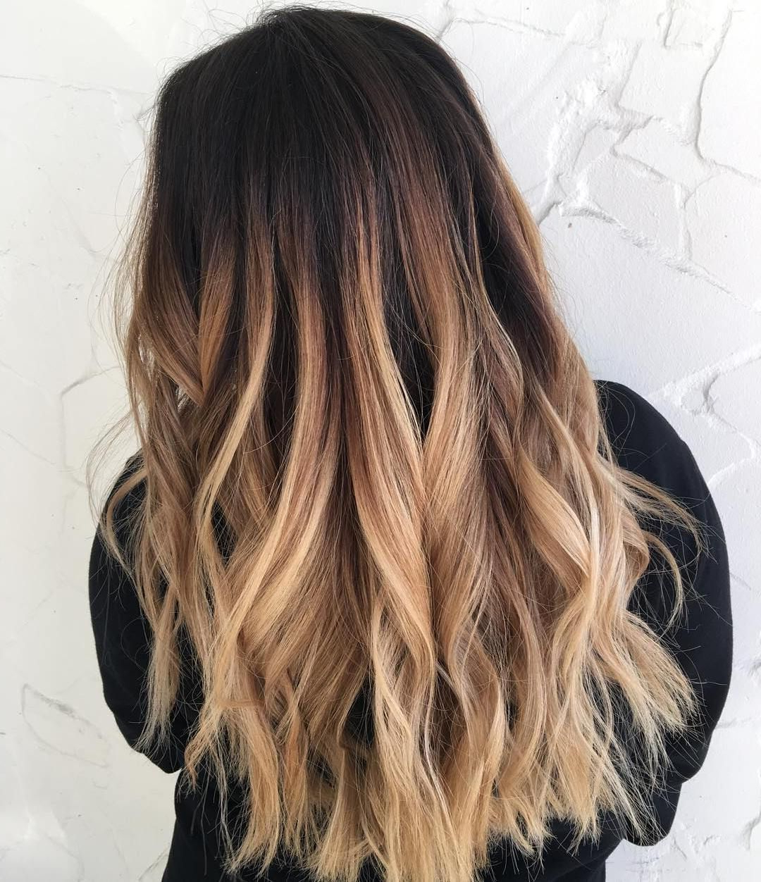 60 Best Ombre Hair Color Ideas For Blond, Brown, Red And Regarding Ash Blonde Balayage Ombre On Dark Hairstyles (View 10 of 20)