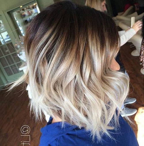 60 Hottest Balayage Hair Color Ideas 2021 – Balayage In Blonde Balayage On Short Dark Hairstyles (View 10 of 20)