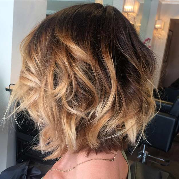 60 Hottest Balayage Hair Color Ideas 2021 – Balayage With Balayage For Short Stacked Bob Hairstyles (View 9 of 20)