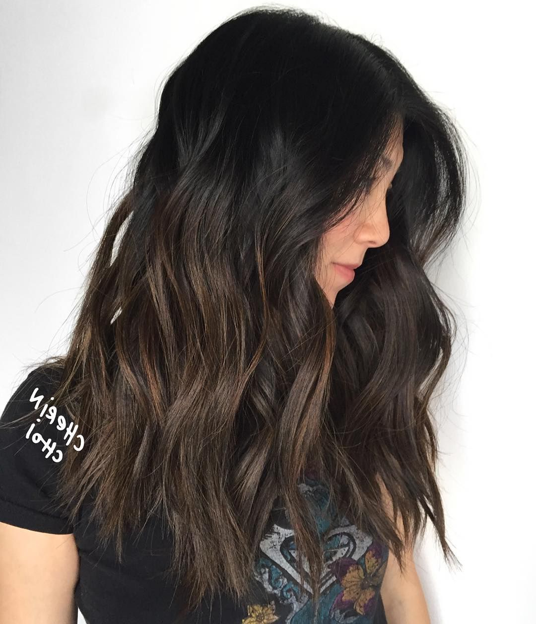 60 Most Magnetizing Hairstyles For Thick Wavy Hair Pertaining To Subtle Balayage Highlights For Short Hairstyles (View 7 of 20)
