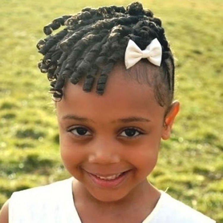 64 Cool Braided Hairstyles For Little Black Girls – Page 4 Throughout Famous Tiny Braids Hairstyles For Front Pieces (View 8 of 20)