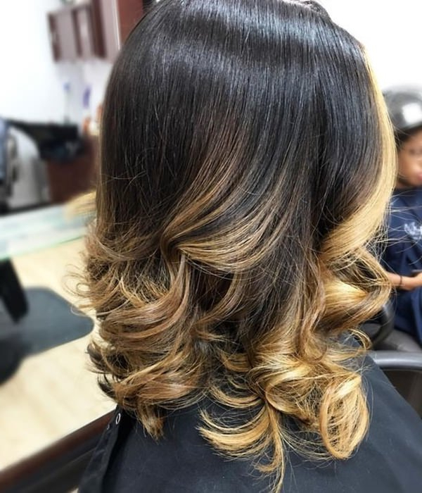 67 Gorgeous Blonde Balayage Hairstyles You Will Love Within Blonde Balayage On Short Dark Hairstyles (View 11 of 20)
