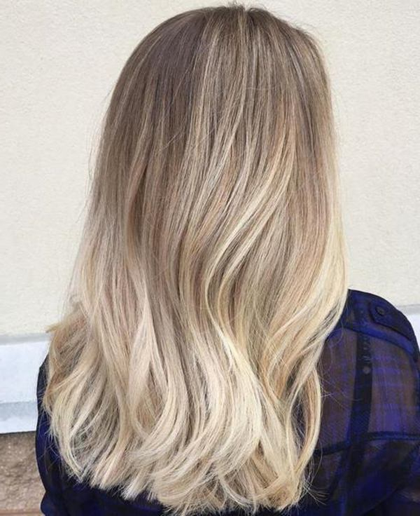 69 Gorgeous Blonde Balayage Hairstyles You Will Love Intended For Natural Looking Dark Blonde Balayage Hairstyles (View 8 of 20)