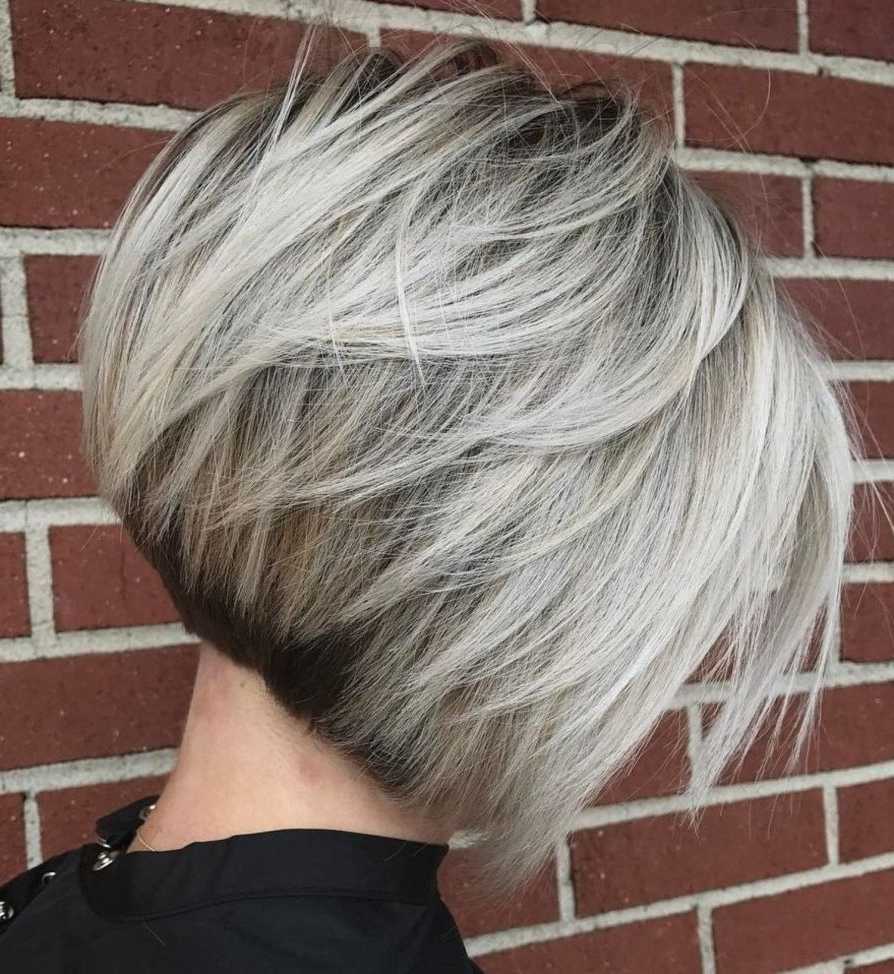 70 Cute And Easy To Style Short Layered Hairstyles With Regard To Cinnamon Balayage Bob Hairstyles (View 3 of 20)