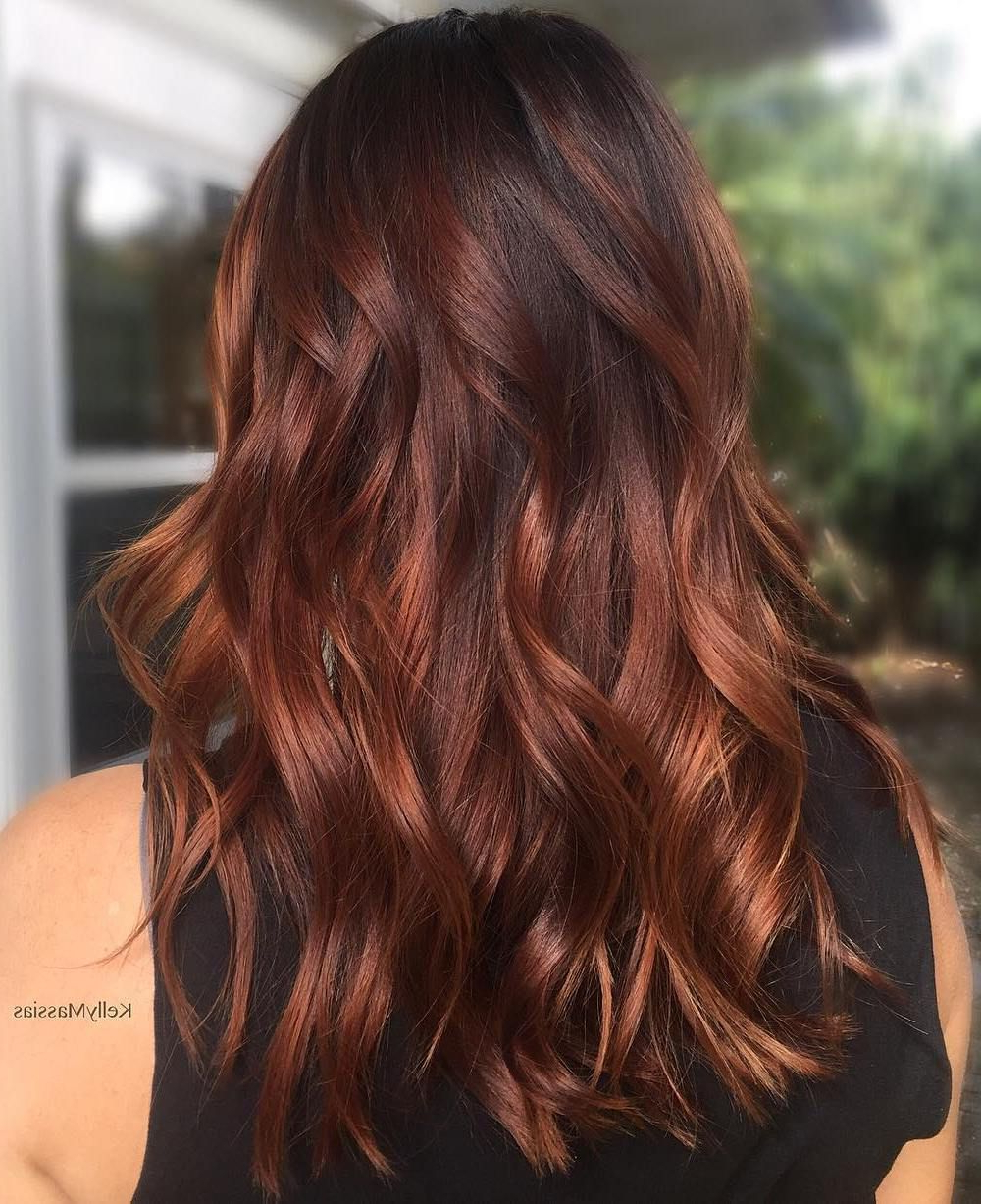 70 Flattering Balayage Hair Color Ideas For 2020   Hair Regarding Dimensional Dark Roots To Red Ends Balayage Hairstyles (View 2 of 20)
