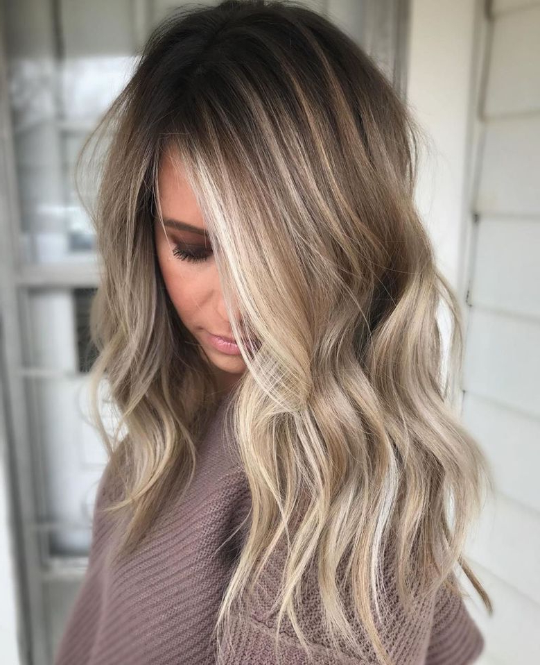 70 Flattering Balayage Hair Color Ideas For 2021 Intended For Brown Blonde Balayage Hairstyles (View 2 of 20)