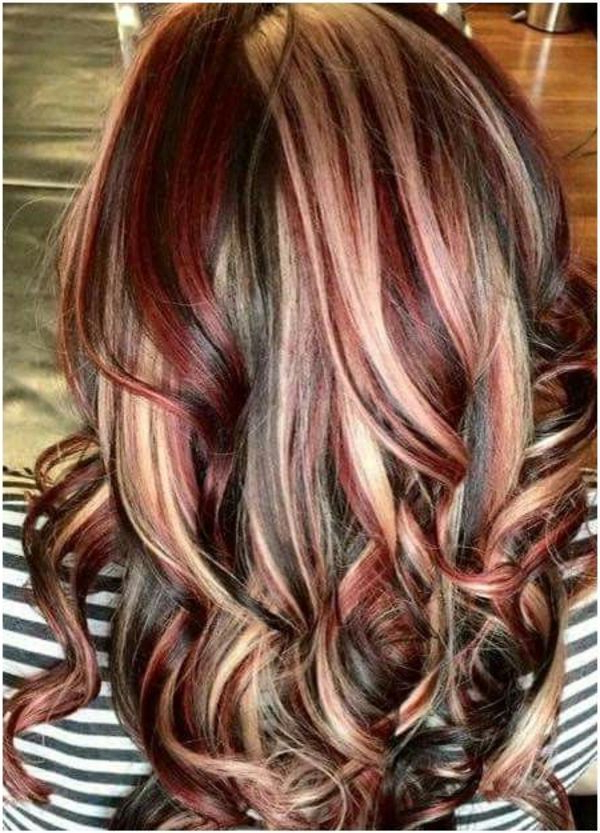 77 Best Hair Highlights Ideas, With Color Types, And With Regard To Brown Blonde Sweeps Of Color Hairstyles (View 17 of 20)