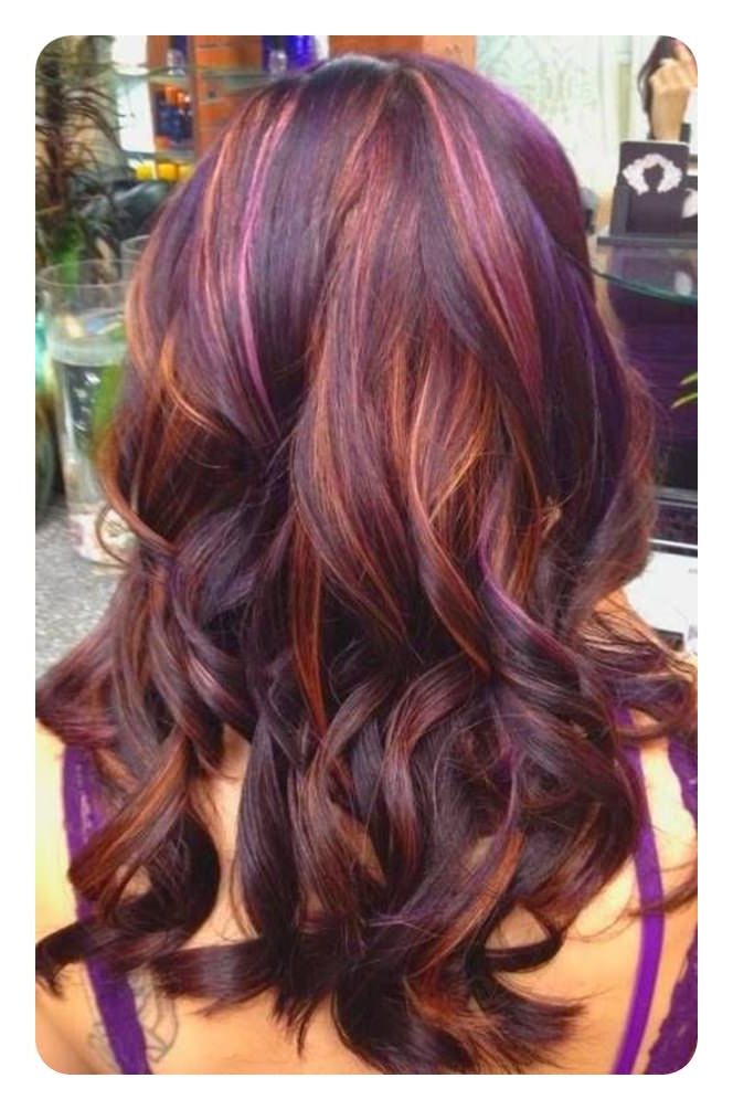 81 Red Hair With Highlights Ideas That You Will Love With Natural Brown Hairstyles With Barely There Red Highlights (View 14 of 20)