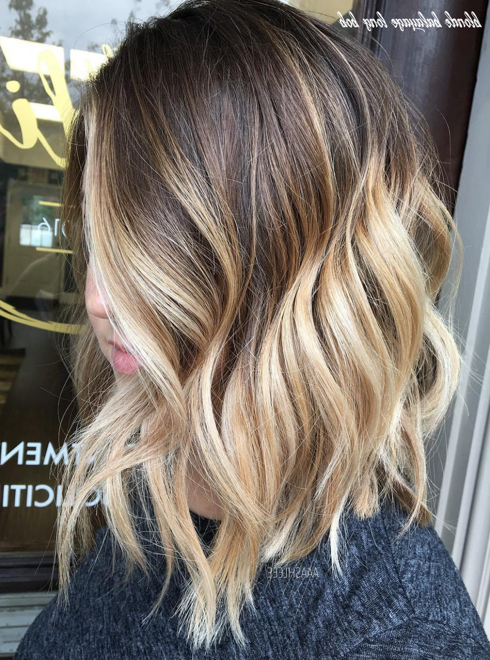 Featured Photo of Long Pixie Hairstyles With Dramatic Blonde Balayage