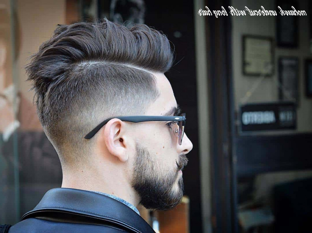 9 Mohawk Undercut With Long Hair – Undercut Hairstyle Pertaining To Well Known Coral Mohawk Hairstyles With Undercut Design (View 4 of 20)