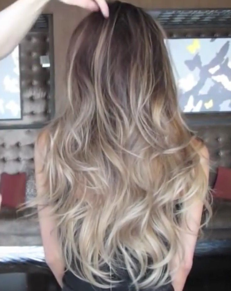 Ash Blonde Ombre Balayageguy Tang | Hair Styles With Regard To Ash Blonde Balayage Ombre On Dark Hairstyles (View 13 of 20)