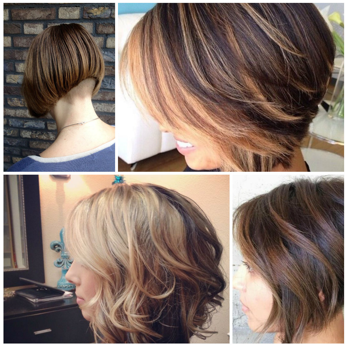 Asymmetric Hairstyles   2019 Haircuts, Hairstyles And Hair For Balayage For Short Stacked Bob Hairstyles (View 8 of 20)