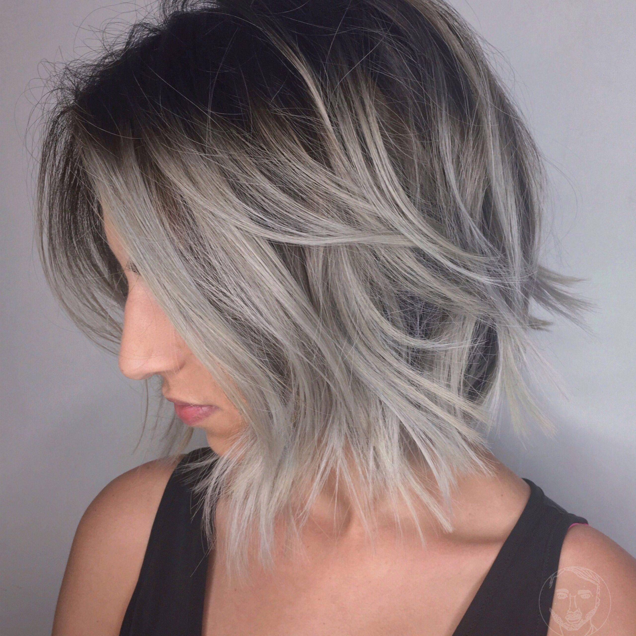 Aveda Wavy Long Blonde Bob Short Hair Beach Wave Medium Regarding Beachy Waves Hairstyles With Balayage Ombre (View 15 of 20)
