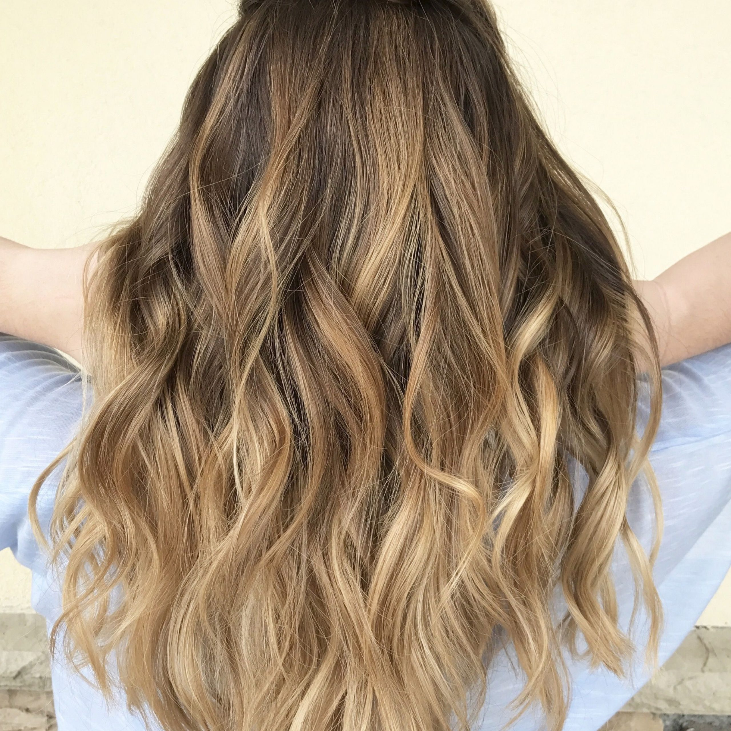 Balayage, Balayage Highlights, Brown Hair, Blonde Hair Throughout Beachy Waves Hairstyles With Balayage Ombre (View 3 of 20)