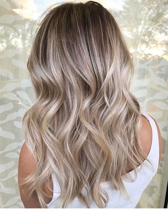 Balayage & Blonette Hair Colors 2018   Pretty Hairstyles Intended For Long Pixie Hairstyles With Dramatic Blonde Balayage (View 8 of 20)